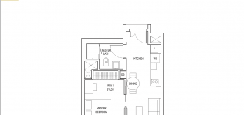 amber-park-condo-floor-plan-1-bedroom-plus-ensuite-study-type-a2-singapore