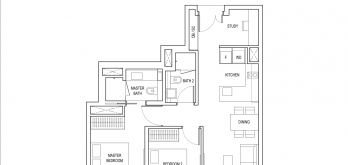 amber-park-condo-floor-plan-2-bedroom-plus-study-type-b3-singapore