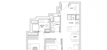 amber-park-condo-floor-plan-2-bedroom-plus-study-type-b4a-singapore