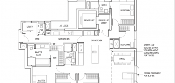 amber park condo floor plan 5 bedroom premium type e2